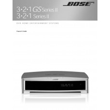 Bose 3-2-1 Series II Home Cinema System
