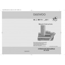 Daewoo DHC-XD350 Home Cinema System
