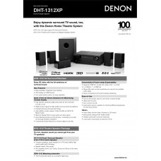 Denon DHT-1312XP Home Cinema System