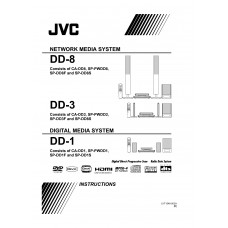 JVC DD-3 Home Cinema System