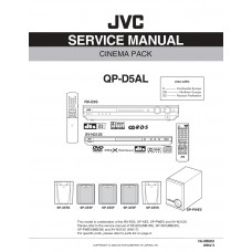 JVC QP-D5AL Home Cinema System