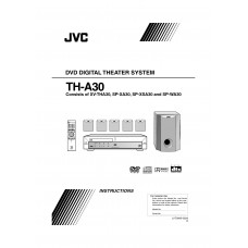 JVC TH-A30 Home Cinema System
