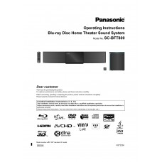 Panasonic SC-BFT800 Home Cinema System