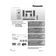 Panasonic ST-HT545WEE Home Cinema System