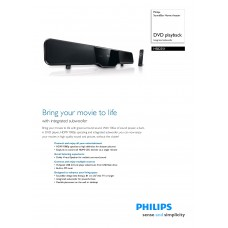 Philips HSB2351 Home Cinema System
