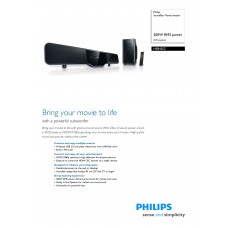 Philips HSB4352 Home Cinema System