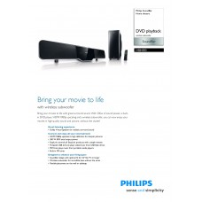Philips HSB4383 Home Cinema System