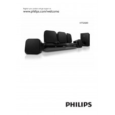 Philips HTS2500 Home Cinema System