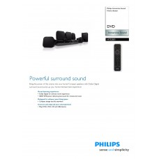 Philips HTS2501 Home Cinema System