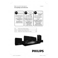 Philips HTS3011 Home Cinema System