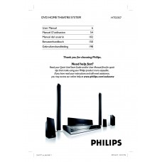 Philips HTS3357 Home Cinema System
