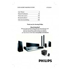 Philips HTS335W Home Cinema System