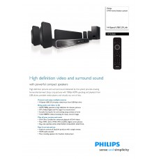 Philips HTS3365 Home Cinema System