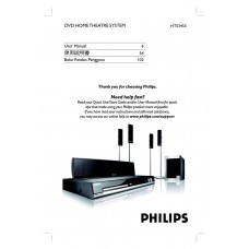 Philips HTS3455 Home Cinema System
