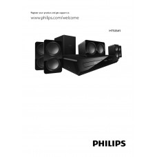 Philips HTS3541 Home Cinema System