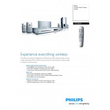 Philips HTS5000W Home Cinema System