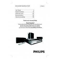 Philips HTS6510 Home Cinema System