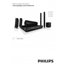 Philips HTS7540 Home Cinema System