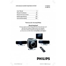 Philips HTS8010S Home Cinema System