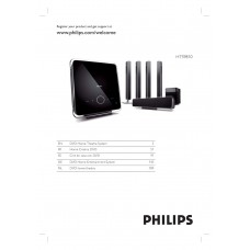 Philips HTS9810 Home Cinema System