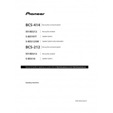 Pioneer BCS-414 Home Cinema System