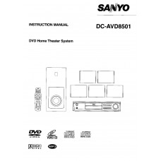 Sanyo AVD 8501 Home Cinema System