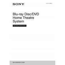 Sony BDV-E980W Home Cinema System
