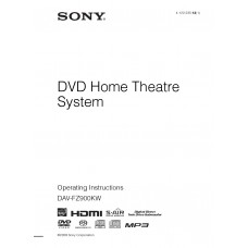Sony DAV-FZ900 Home Cinema System