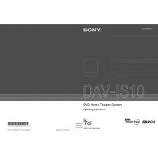 Sony DAV-IS10 Home Cinema System
