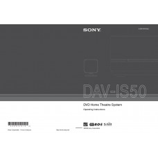 Sony DAV-IS50 Home Cinema System