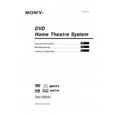 Sony DAV-SB200 Home Cinema System