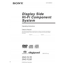 Sony DHC-FL7D Home Cinema System
