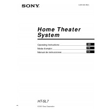 Sony HT-SL7 Home Cinema System