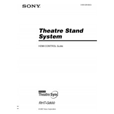 Sony RHT-G800 Home Cinema System