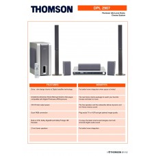 Thomson DPL2907 Home Cinema System