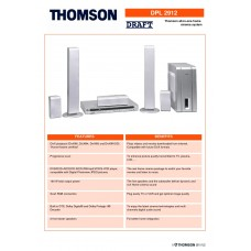 Thomson DPL2912 Home Cinema System