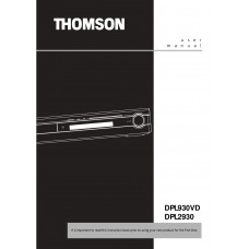 Thomson DPL2930 Home Cinema System