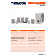 Thomson DPL 914VD Home Cinema System