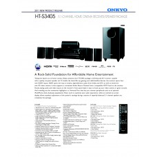 Onkyo HT-S3405 Home Theater