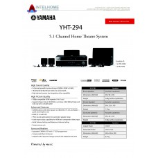 Yamaha YHT-294 Home Cinema System